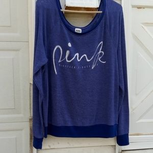 VS PINK scoop neck sweater 🌻🌻